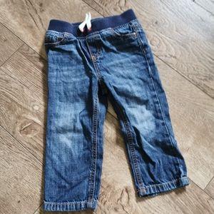 2/$15 Joe fresh jeans 18-24 m